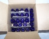 24 NEW Empty Cobalt Blue Glass Bottles 10 ml Euro Dropper 1/3 Ounce Essential Oils Aromatherapy Box2