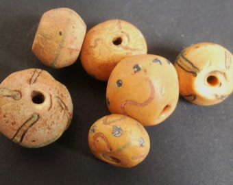 Antique African Trade Beads KING Wound Glass Venetian Bead Instant COLLECTION  Late 19th Early 20th Century Collectible Beads