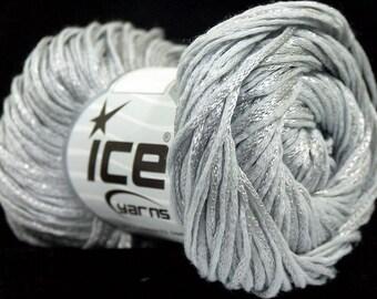 Set Of 10 Cotton Lurex Jari Shiny Yarn Thread Crochet