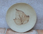 Tea, cake, sandwich, side plate in textured stoneware pottery ceramic