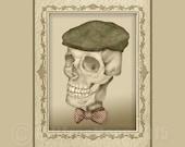 Grandpa Oliver's Driving hat and Bow Tie Mini Print