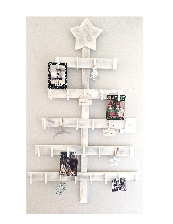 holiday card holder advent calendar tree card holder
