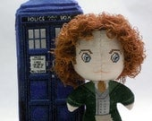 The Eighth Doctor Doll 3D Cross Stitch Sewing Pattern PDF
