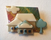 Lucinda House Pin Sparkles Three Houses