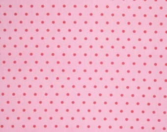 Pink Lulu pwtw0968PINK Cotton Fabric by Tanya Whelan FreeSpirit Lulu Roses Dot