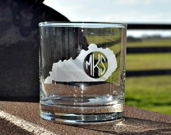 State Rocks Glass Etched, Sand Carved for Groomsman Gifts, Home Bar, Valentines, Where We Met Coordinates by Jackglass on Etsy