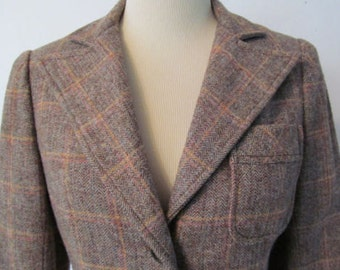 Vintage Wool Blazer by Norman Todd of California