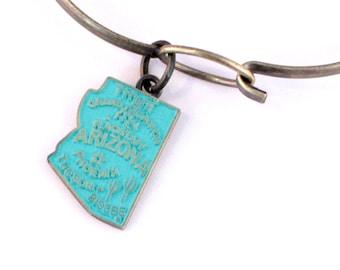 Arizona Charm Bracelet or Necklace