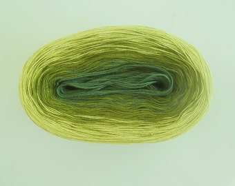 LEMONGRASS II   Color Changing Cotton yarn  480 yards/100 gr  Fingering Weight