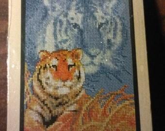 Forever Wild Tiger Cross Stitch Kit