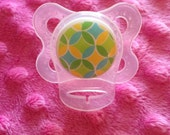 MAM Adapter - Clear Silicone Ring for Button Style Pacifiers