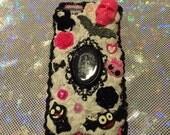 iPhone 6 Kawaii Decoden Cellphone Case - Creepy Cute