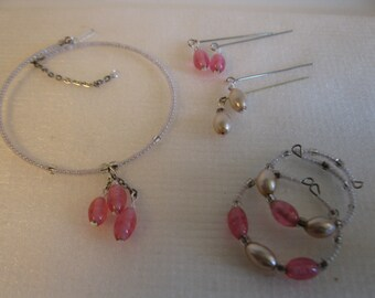 doll jewelry ensemble for Bru Jumeau larger French and German dolls