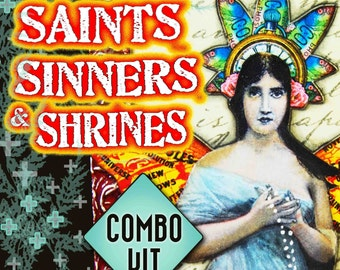 Workshop COMBINATION SHRINE kit -  Sinners, Saints & Shrines - Alternatives to Honoring the Divine Within