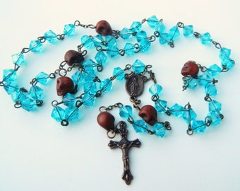 Memento Mori Skull Full Rosary/ Rosary of Rememberance-Dios de los Muertos Rosary