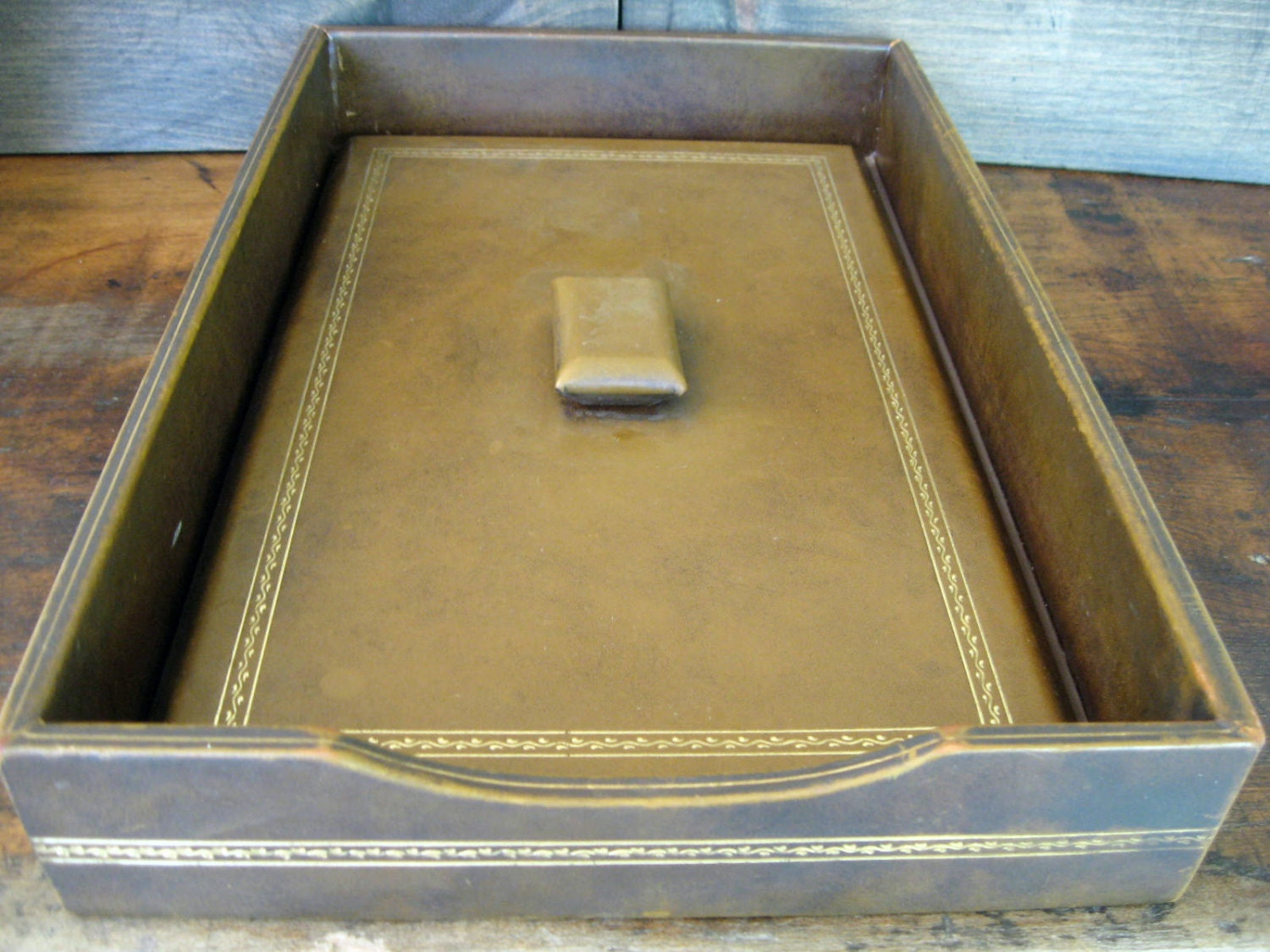Letter tray with lid legal size document tray by for Legal letter tray