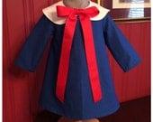 Madeline Inspired Baby Toddler Girl Dress