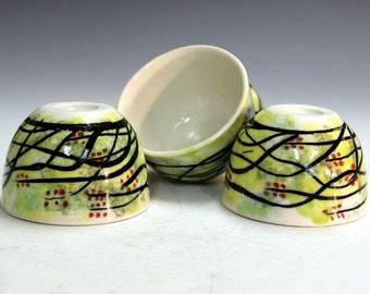 Office gifts handmade holiday presents porcelain tea bowls  office party gifts chinese tea bowls shooters  gifts party gifts wiskey shooters