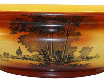 Roseville Pottery Autumn Large Bowl