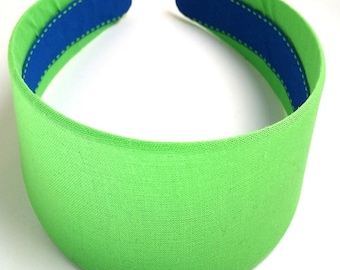 Sour Apple Green Headband 2 Inch