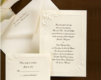 Inexpensive wedding invitations