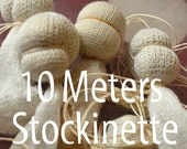 Stockinette 10 meter of Gauze, Waldorf doll making Inner-head tubing