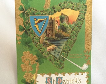Antique St. Patrick's Day postcard
