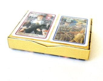 Vintage Art Cards,Edouard Manet Piatnik Playing Cards, Manet Swap Cards, Edouard Manet Trading Cards,, Manet Art Cards, Edouard Manet Art