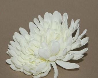 Cream Chrysanthemum - Artificial flower, Silk Flower