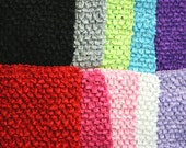 """new Girls 11"""" x 9""""  lined Crochet tutu top tube many  color you choose"""
