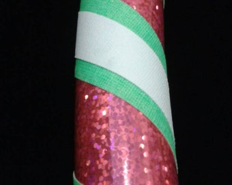 Hula Hoop - Hot Pink Sparkle, Green and White