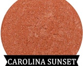 Mineral Eyeshadow CAROLINA SUNSET Coral With Pink Shimmer