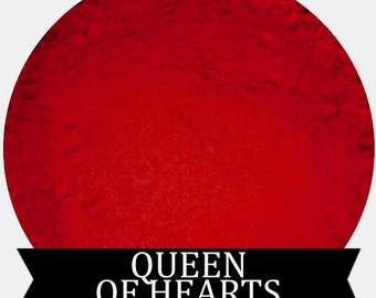 Matte Red Eyeshadow QUEEN OF HEARTS