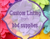 custom listing for Georgia