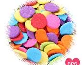 Jumbo Rainbow Polka Dot Sprinkles, Rainbow Party Sprinkles, Jumbo Dot Sprinkles, Jumbo Dot Quins, Jumbo Confetti Dot Sprinkles