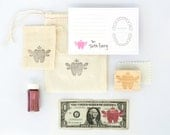 Tooth Fairy Kit | Tooth Fairy Stationery | Pink | Made in the USA | SP001