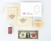 Tooth Fairy Kit | Tooth Fairy Stationery | Pink | Made in the USA | SP 001