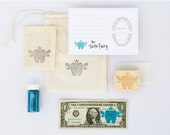Tooth Fairy Kit | Tooth Fairy Stationery | Blue | Made in the USA | SP 001