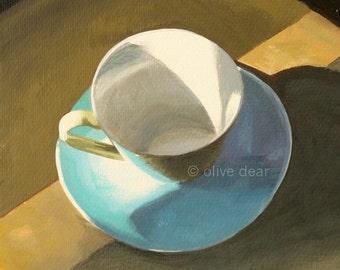 Morning cup, fine art pigment print