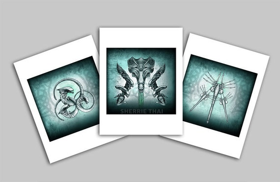 Aliens Movie Art Mini Prints