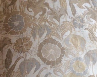 Taupe fabric Preeti by Jessica Swift for Blend fabrics, by the yard