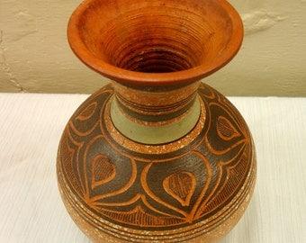 Mid Century Pottery Vase
