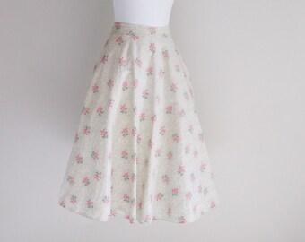 Sweet Summer Full Circle Skirt - Sz S