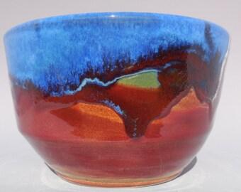 Blue Red Orange Bowl