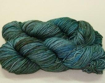 Kelpie Pond - Kelpie DK merino hand dyed yarn - 100g
