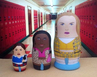 Mini Clueless Matryoshka Dolls
