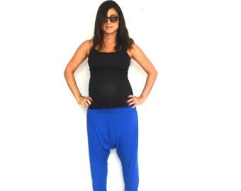 Plus size pants, Drop crotch pants,  Plus size yoga pants, Maternity pants, Yoga plus size pants, Drop crotch plus size pants