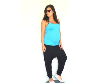 Maternity pants, Drop crotch pants, Yoga Pants, Women maternity pants, Maternity clothes, Maternity leggings, Drop crotch , Maternity pants