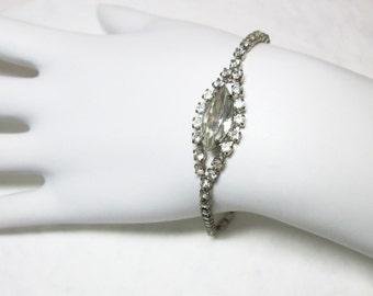 Rhinestone Bracelet Vintage