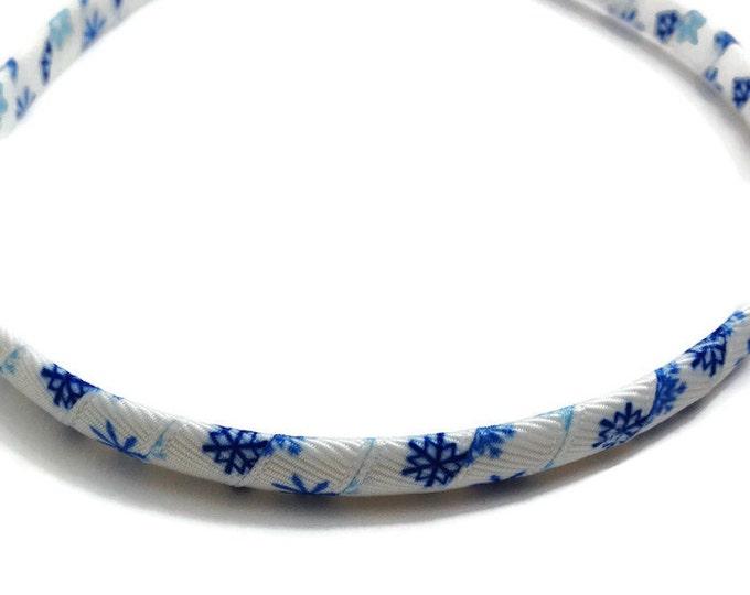 Blue Snowflake Headband -Handmade To Order